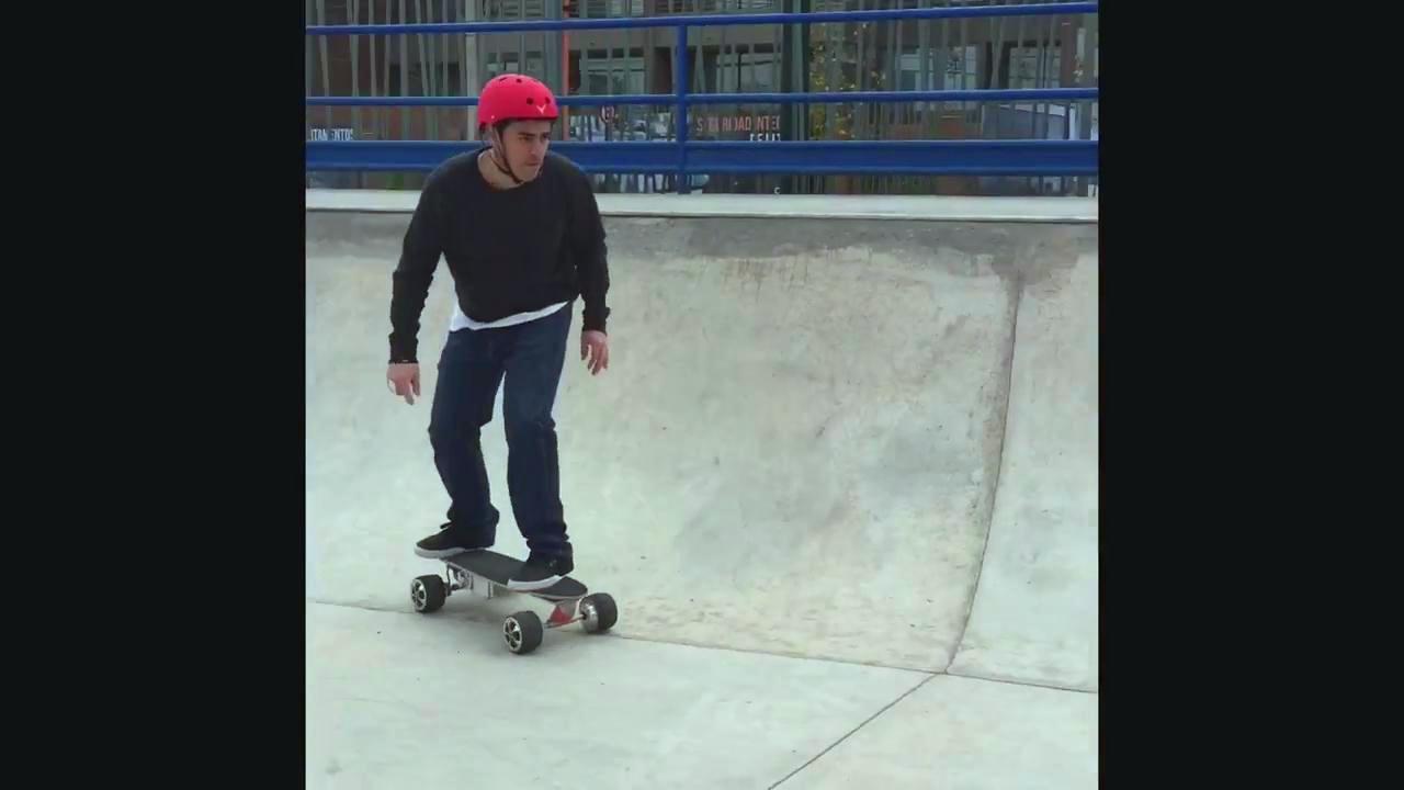 Skate elétrico
