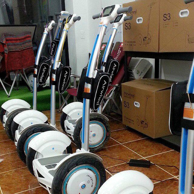 auto-equilíbrio monociclo elétrico
