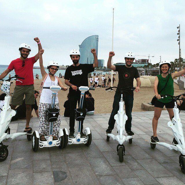 uma roda scooter elétrico