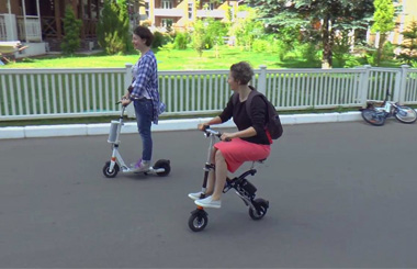 Airwheel E6 Intelligent Folding Electric Bike