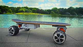 M3 smart electric skateboard.